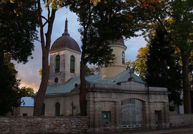 Николаевская церковь город Курессааре