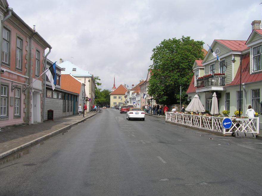 Улица города Курессааре