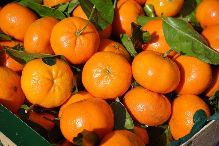 Смотреть фото некалорийного фрукта – мандарина из города Москвы