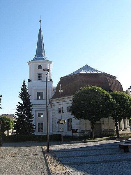 Церковь Святого Иоанна город Валга