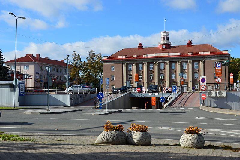 Административное здание город Йыхви