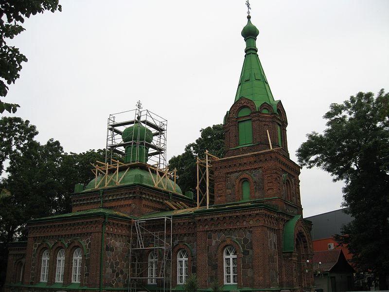 Православная церковь город Йыхви