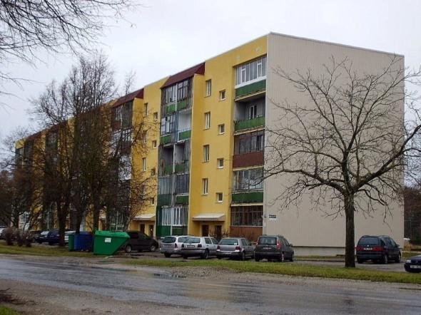 Улица город Йыхви