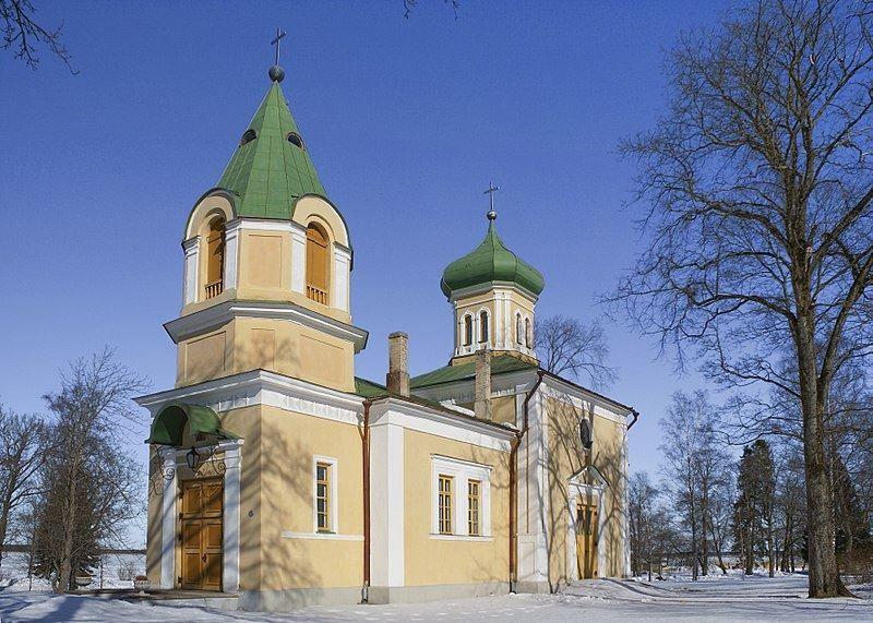 Православная церковь город Хаапсалу