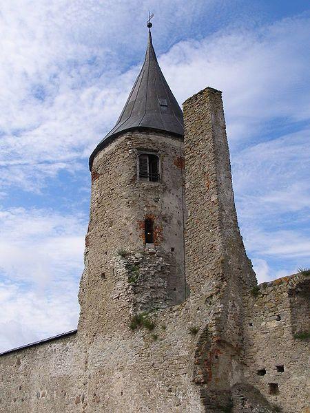 Замок город Хаапсалу