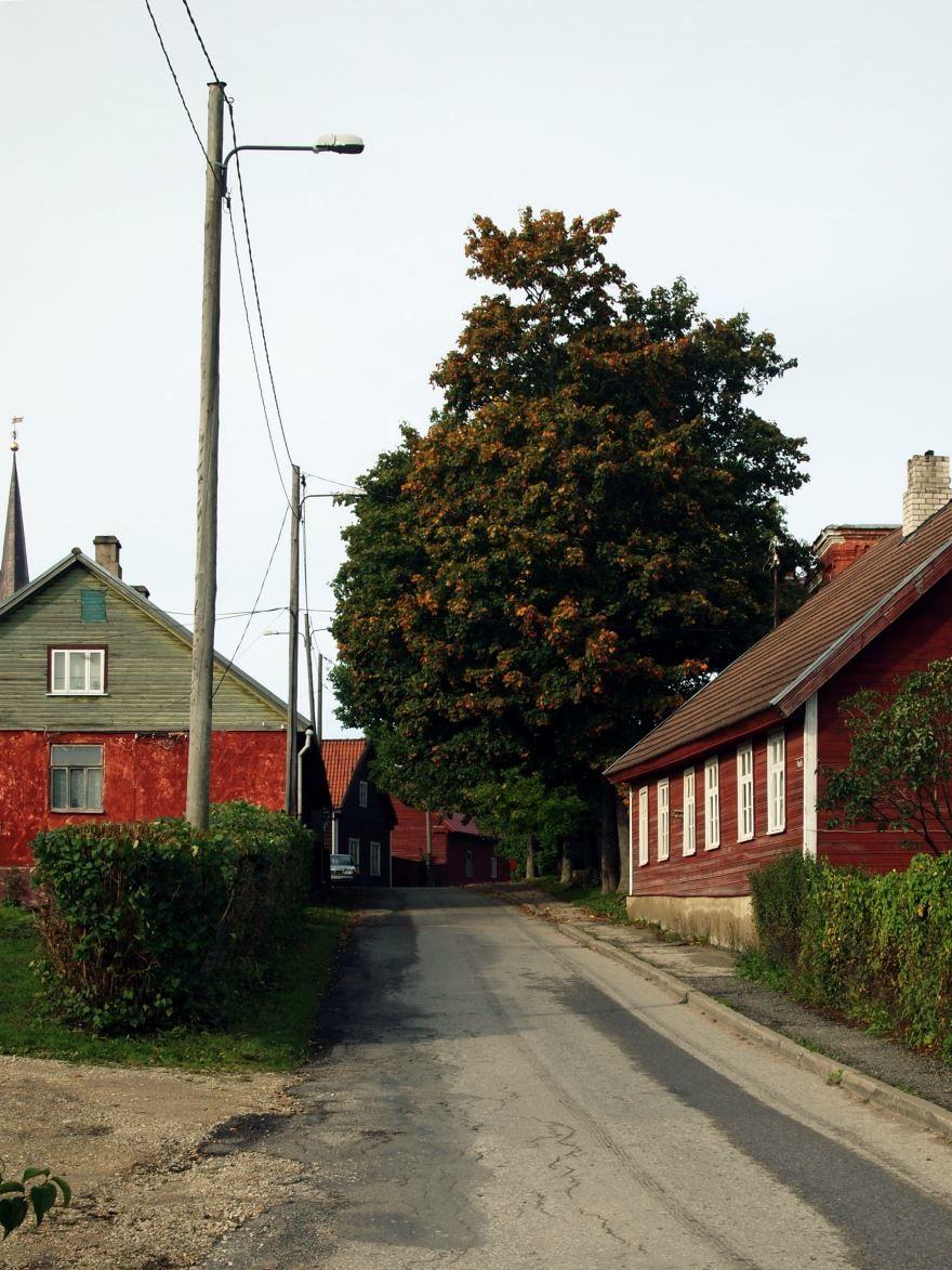 Фото города Пайде Эстония