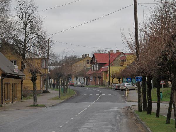Улица город Лихула 2019
