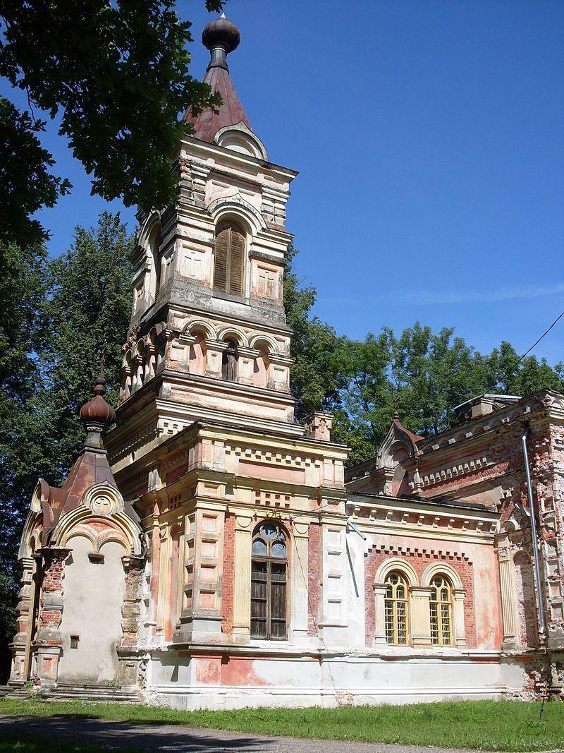 Православная церковь город Синди