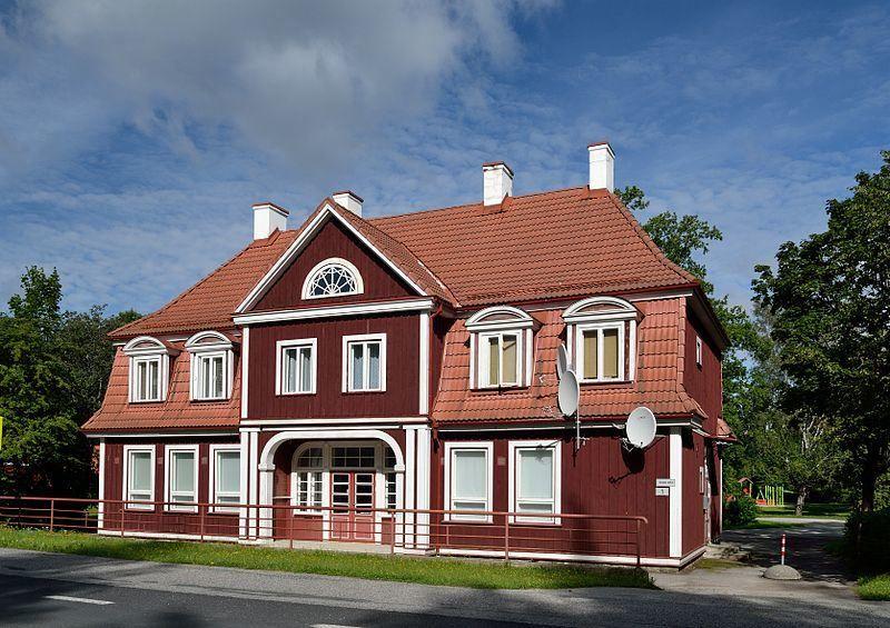 Железнодорожный вокзал город Синди Эстония