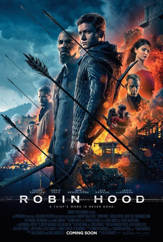 Смотреть постеры фильма Робин Гуд: начало в хорошем качестве