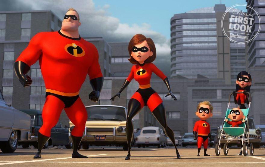 Смотреть фото мультфильма суперсемейка 2 2018 года онлайн