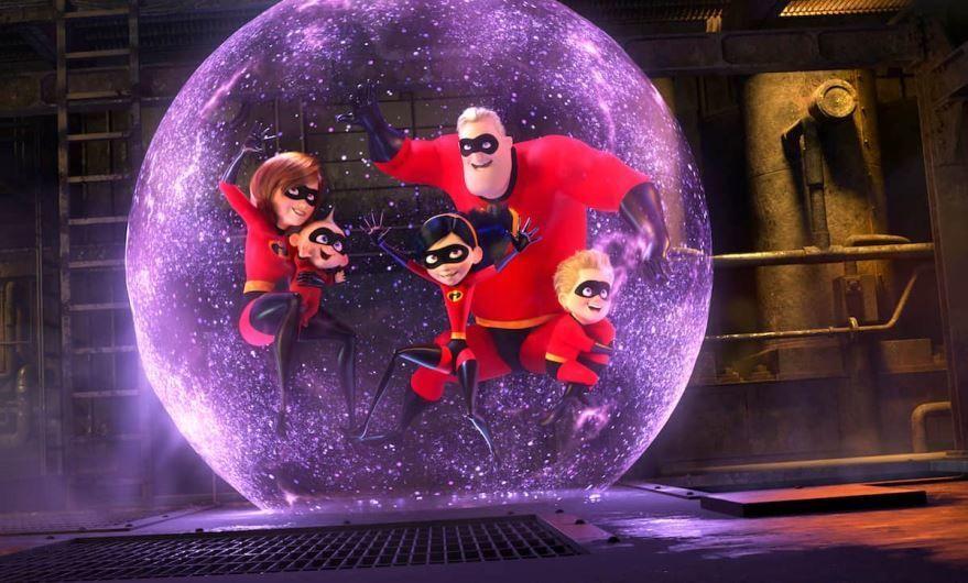 Фото и картинки мультфильма суперсемейка 2, который вышел в кинотеатре в 1080 hd