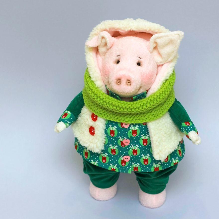 С Новым годом 2019 Свиньи