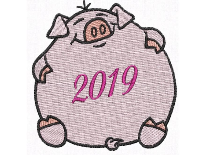 Поросенок Символ года 2019