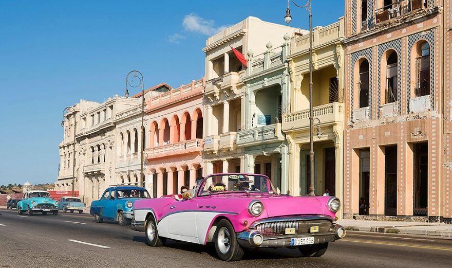 Скачать онлайн бесплатно лучшее фото город Гавана Куба в хорошем качестве