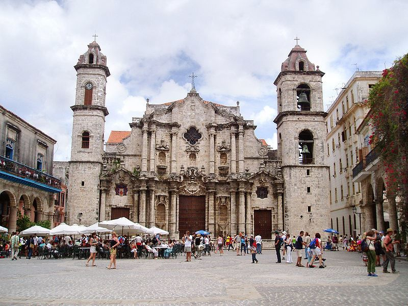 Гаванский собор город Гавана