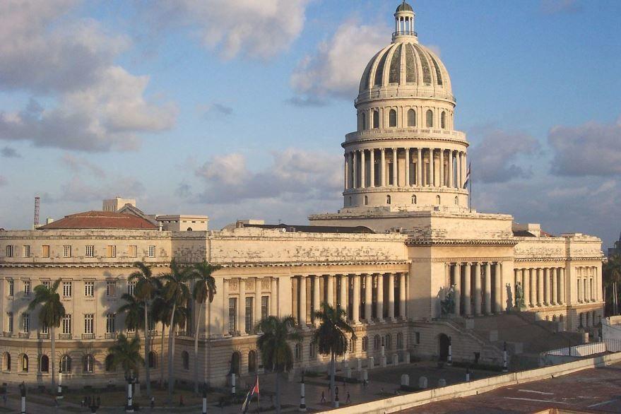 Здание Гаванской капеллы город Гавана