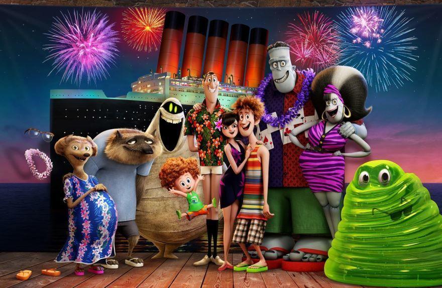 Фото и картинки мультфильма монстры на каникулах 3: море зовет, который вышел в кинотеатре в 1080 hd