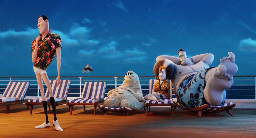 Скачать лучшие картинки и кадры мультфильма монстры на каникулах 3: море зовет бесплатно