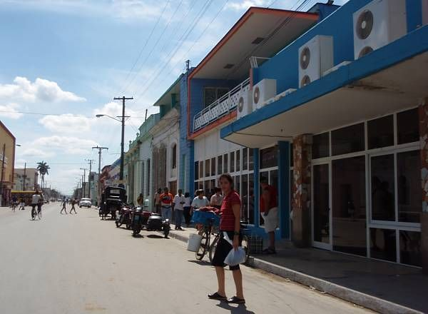 Улица город Матансас