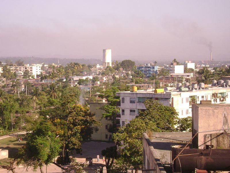 Вид на город Пальма Сориано 2019