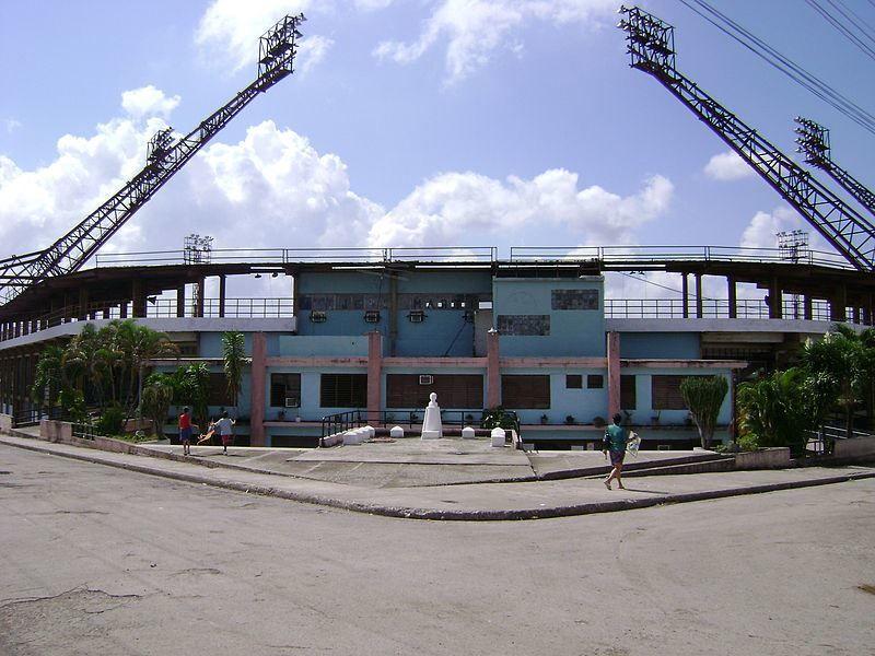 Бейсбольный стадион город Пальма Сориано