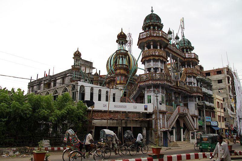Мечеть Чанданпура город Читтагонг
