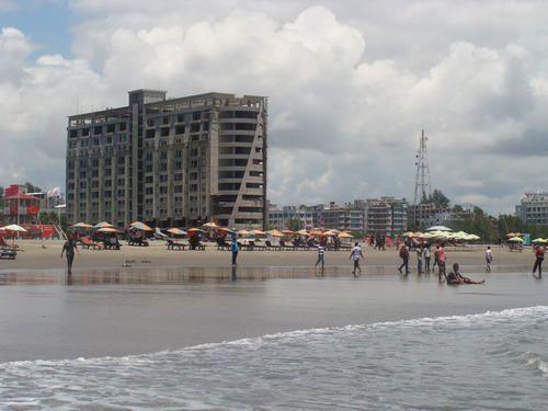 Пляж город Читтагонг
