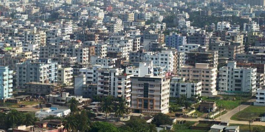Скачать онлайн бесплатно лучшее фото вид на город Дакка в хорошем качестве