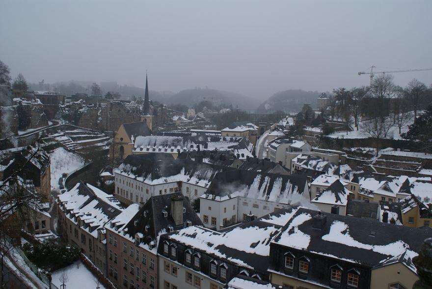 Фото города Люксембург Бельгия