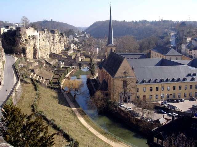 Смотреть красивое фото город Люксембург Бельгия