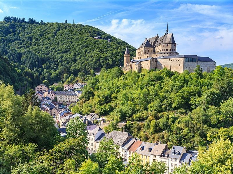 Долина Петрюс город Люксембург