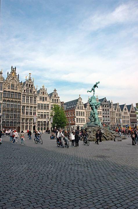 Скачать онлайн бесплатно лучшее фото город Антверпен в хорошем качестве