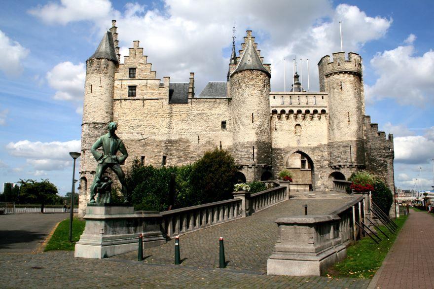 Фото города Антверпен Бельгия