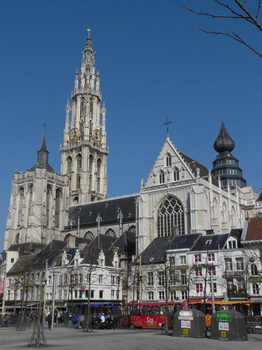 Собор город Антверпен