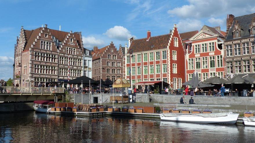 Фото города Фландрия Бельгия