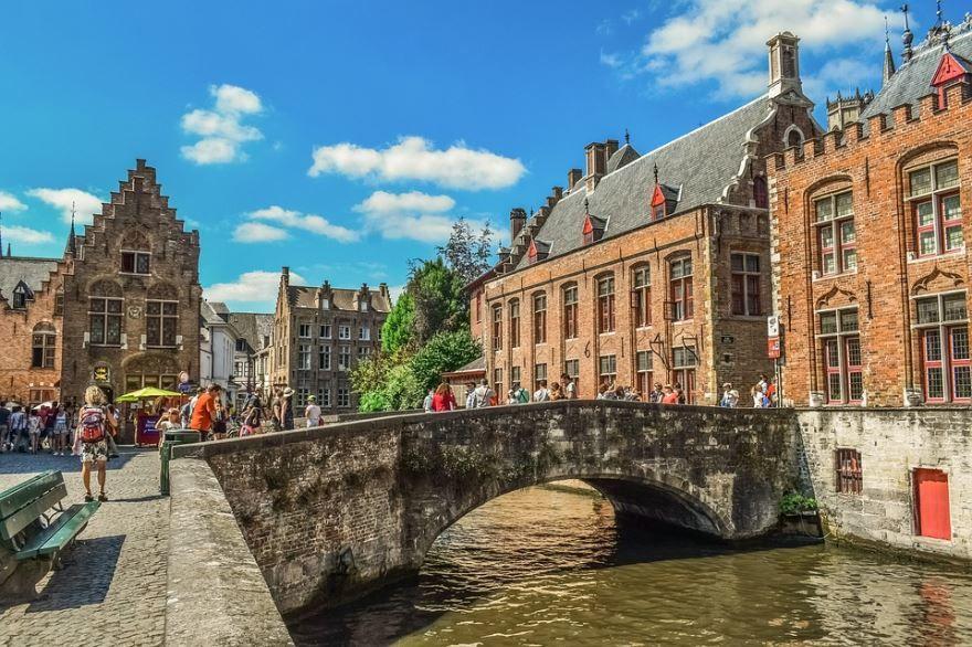Фото города Брюгге Бельгия