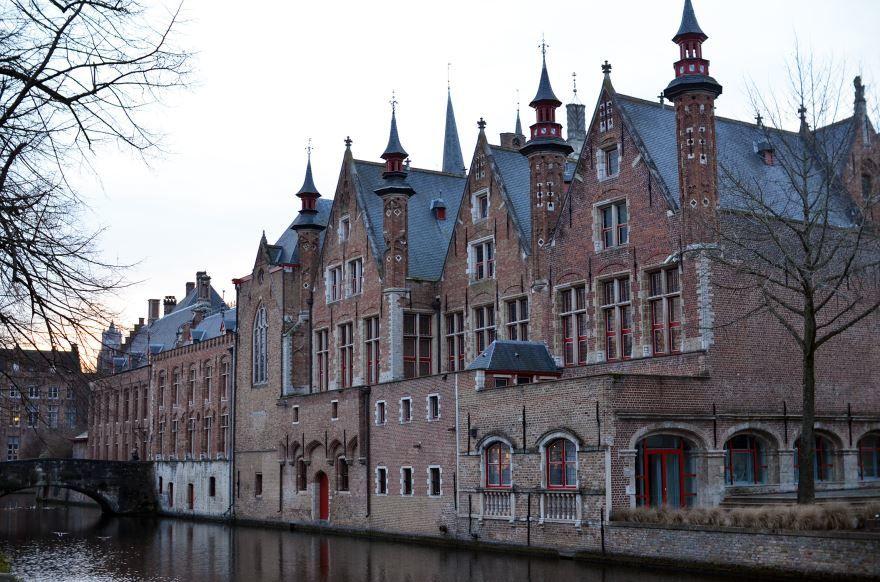 Город Брюгге 2019 Бельгия
