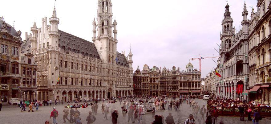 Смотреть красивое фото город Брюссель