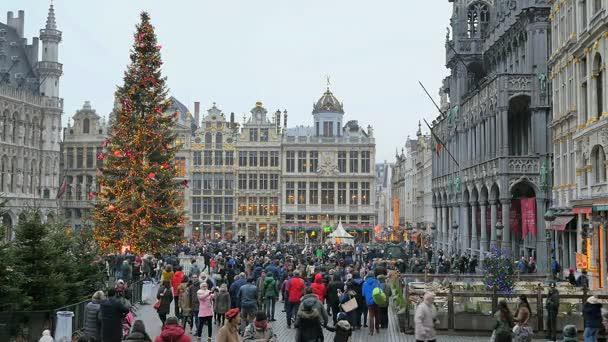 Новый год в городе Брюссель