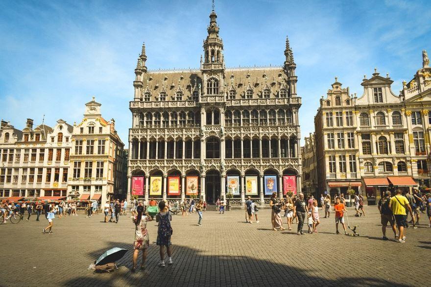Ратуша город Брюссель