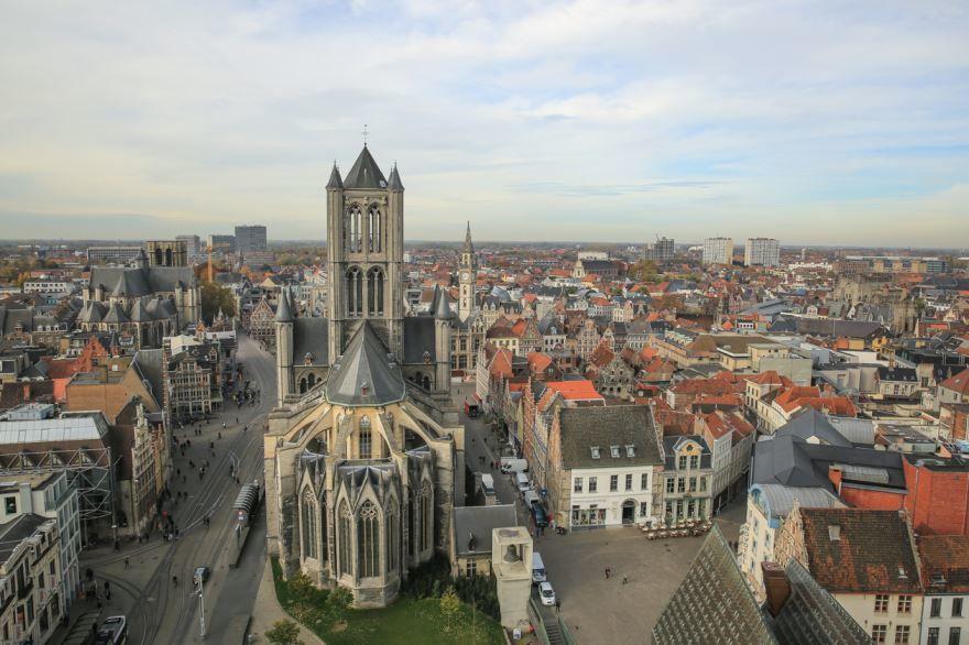 Скачать онлайн бесплатно лучшее фото города Гент в хорошем качестве