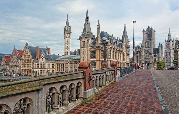 Город Гент 2019