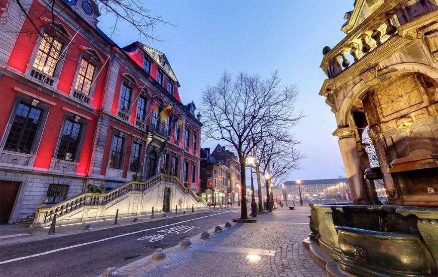 Фото города Льеж Бельгия