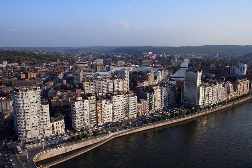 Вид на город Льеж