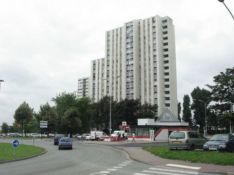 Улица город Монс