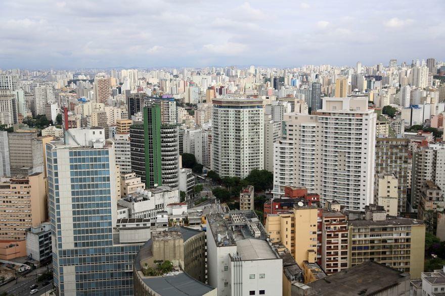 Вид на город Сан Паулу