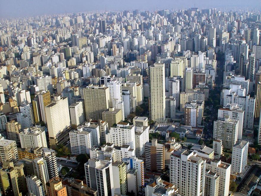 Панорама город Сан Паулу