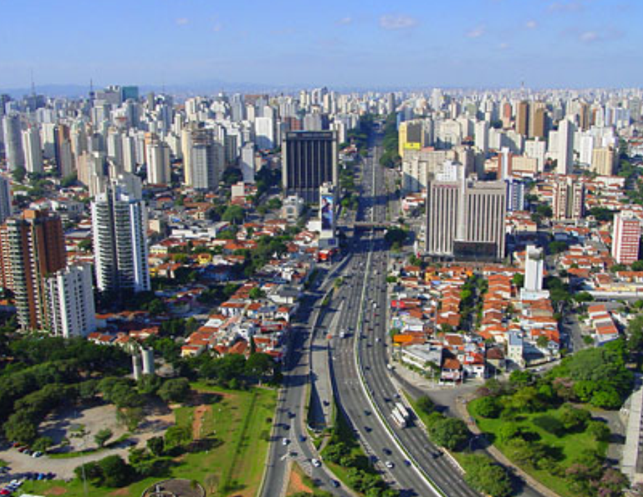 Панорама города Сан Паулу