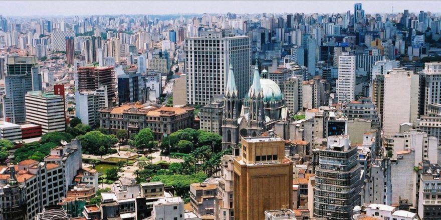 Фото города Сан Паулу Бразилия